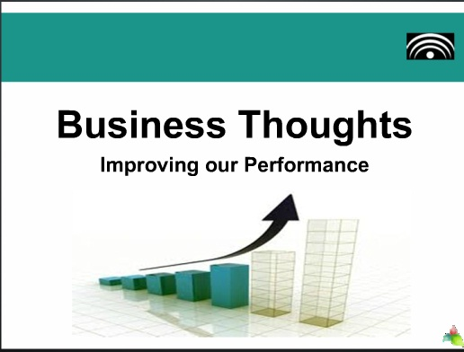 Business Thoughts  Lets Improve Ourselves