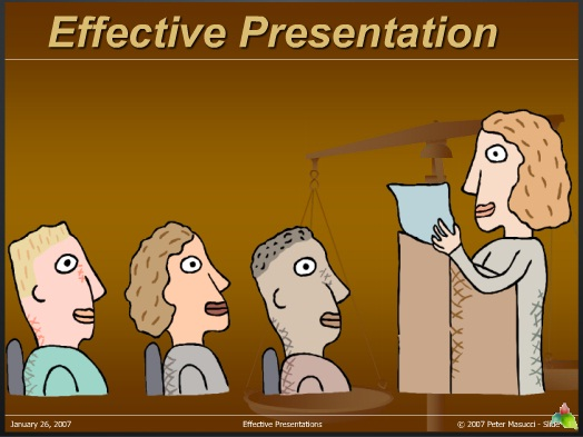 effective presentations