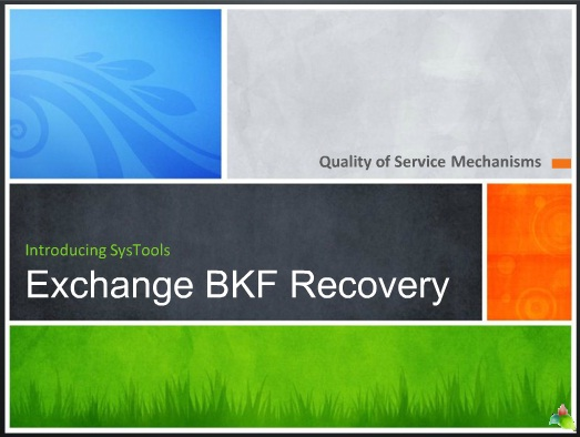 2003 Exchange BKF File Recovery