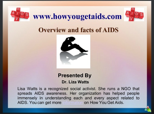 Overview and Facts of AIDS