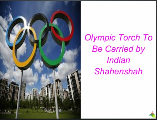 Olympics Torch PPT Presentation