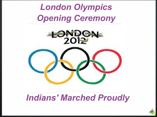 London Olympics Opening Ceremony PPT