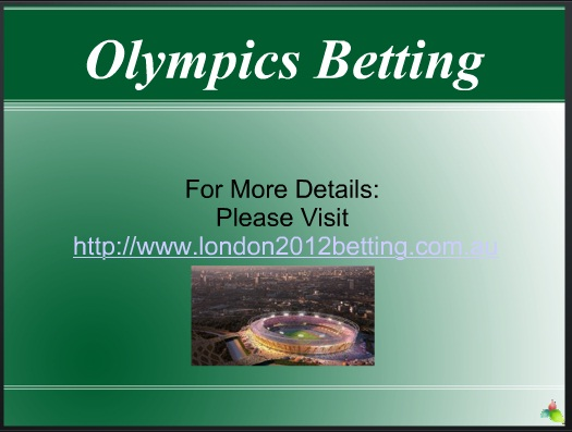 Olympics Betting