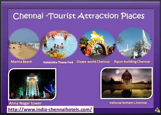 find the best places for visiting in chennai