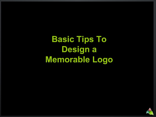 Basic tips to design a memorable logo