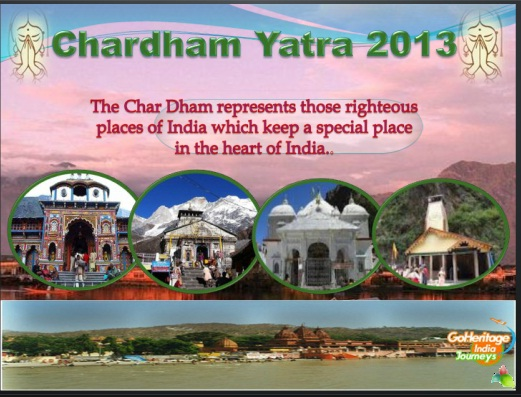 Chardham important pilgrim of Hindu life 