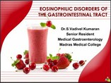 EOSINOPHILIC DISORDERS OF THE GASTROINTESTINAL TRACT