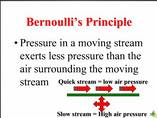 Application of Bernoullis Theory