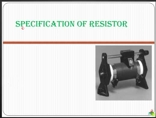 resistor