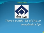 CSR ACTIVITY OF SAIL