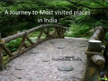 A Journey to most visited places in India