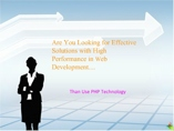 PHP Development- Language Carrying Lucrative Web Benefits