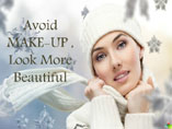 Avoid make-up, Look Beautiful