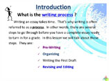 Academic Writing - The Writing Process