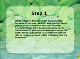 install a sump pump