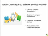 Tips in choosing PSD 2 HTMl service providers.