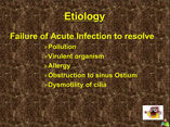 Chronic sinusitis ppt by Dr Manas