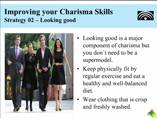 Strategies to Improve your Charisma Skills