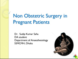 nonobstetric surgery in pregnant patient
