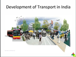 Development of Transport in India