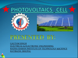 photovoltaic powerpoint presentation