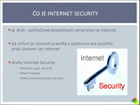 Internte Security powerpoint presentation