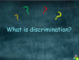 discrimination powerpoint presentation