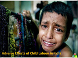Adverse Effects of Child Labour in India