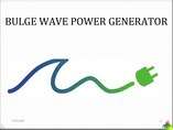 Wave Energy Generator(Rubber Anaconda)