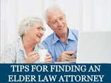 Tips for Finding an Elder Law Attorney