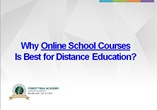 Online School Courses
