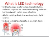 LED technology and its advantages with applications