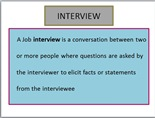 Interview its Types and Tips