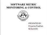 software process monitoring and control