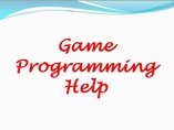 Game Programming Help powerpoint presentation