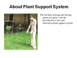 Benefits of Plant supports powerpoint presentation