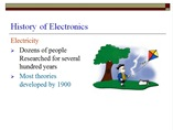 History of Electronics powerpoint presentation