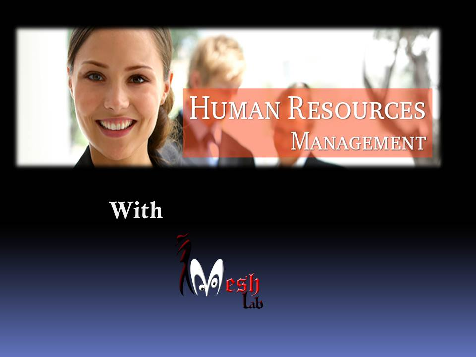 Work and Function of Human Resourse Managment powerpoint presentation