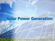 Solar Power Generation powerpoint presentation