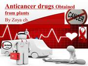 Anti cancer drugs powerpoint presentation