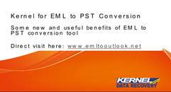 How to Convert EML to PST Outlook mailbox?