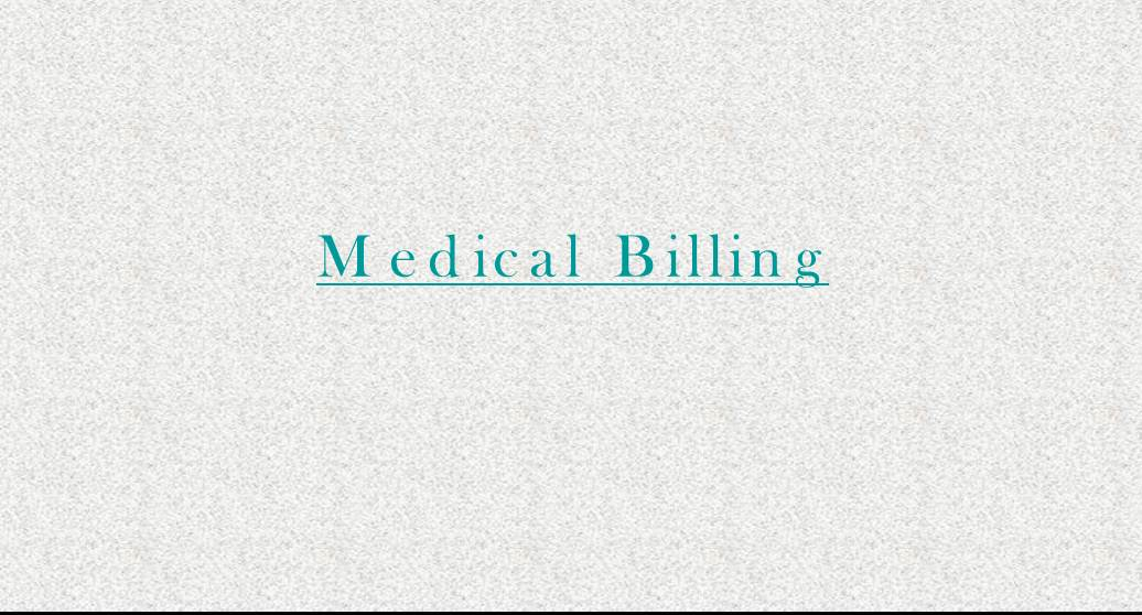 Medical Billing Importance