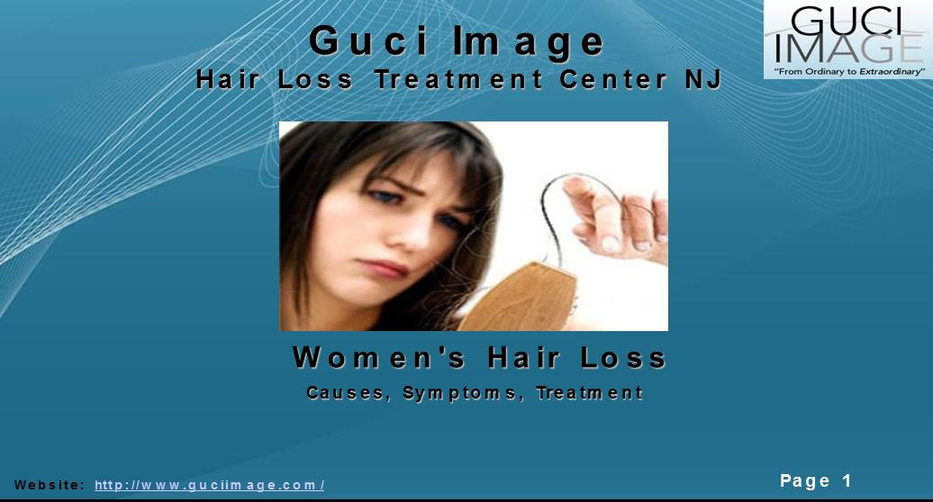 Women Hair loss treatment
