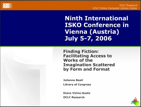 Ninth International ISKO Conference in Vienna  Austria  July 5-7