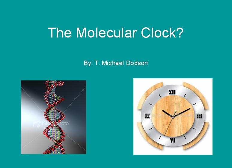 The Molecular Clock