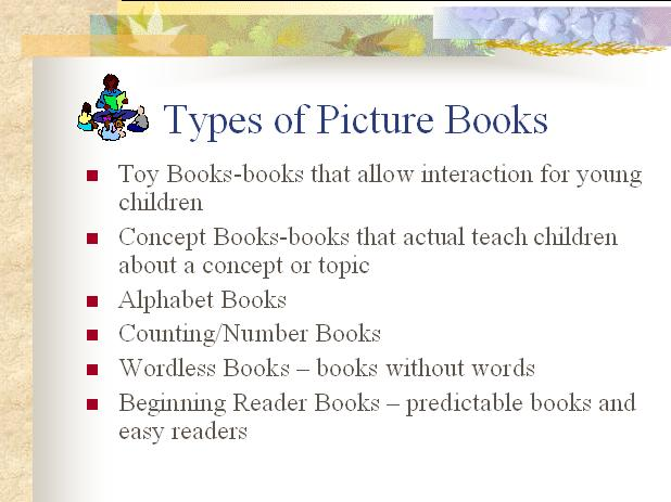 Picture Books – A Summary from Children's Books