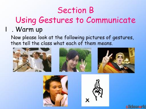 Unit 8 Body Language in Communication