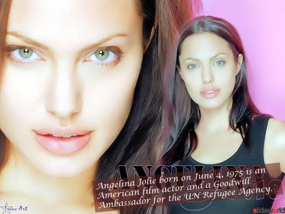 Angelina Jolie  Angelina Jolie images  Angelina Jolie wallpapers  Angelina Jolie biography