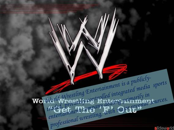 WWE-World Wrestling Entertainment