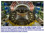 LARGE HADRON COLLIDER powerpoint presentation